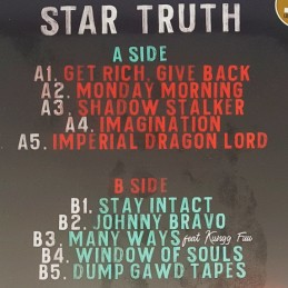 "Sham & The Professor \""Warriors\\"" EP Vinyle b2s MUSIC AVENUE PARIS"